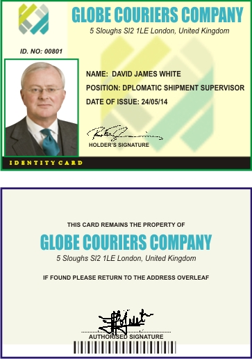 ID CARD David James White
