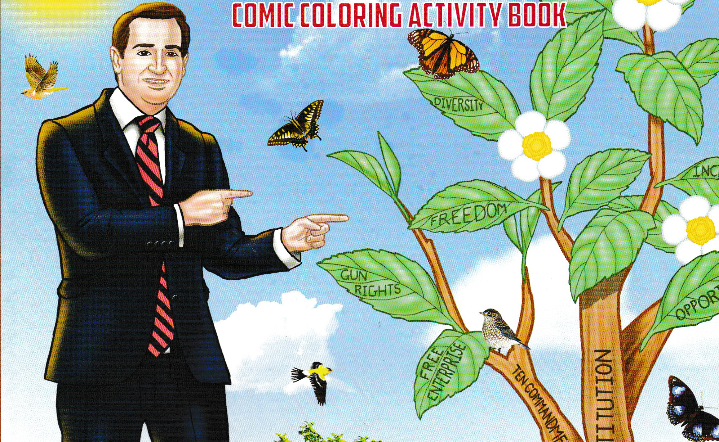 The Fight for The Ted Cruz Coloring Book