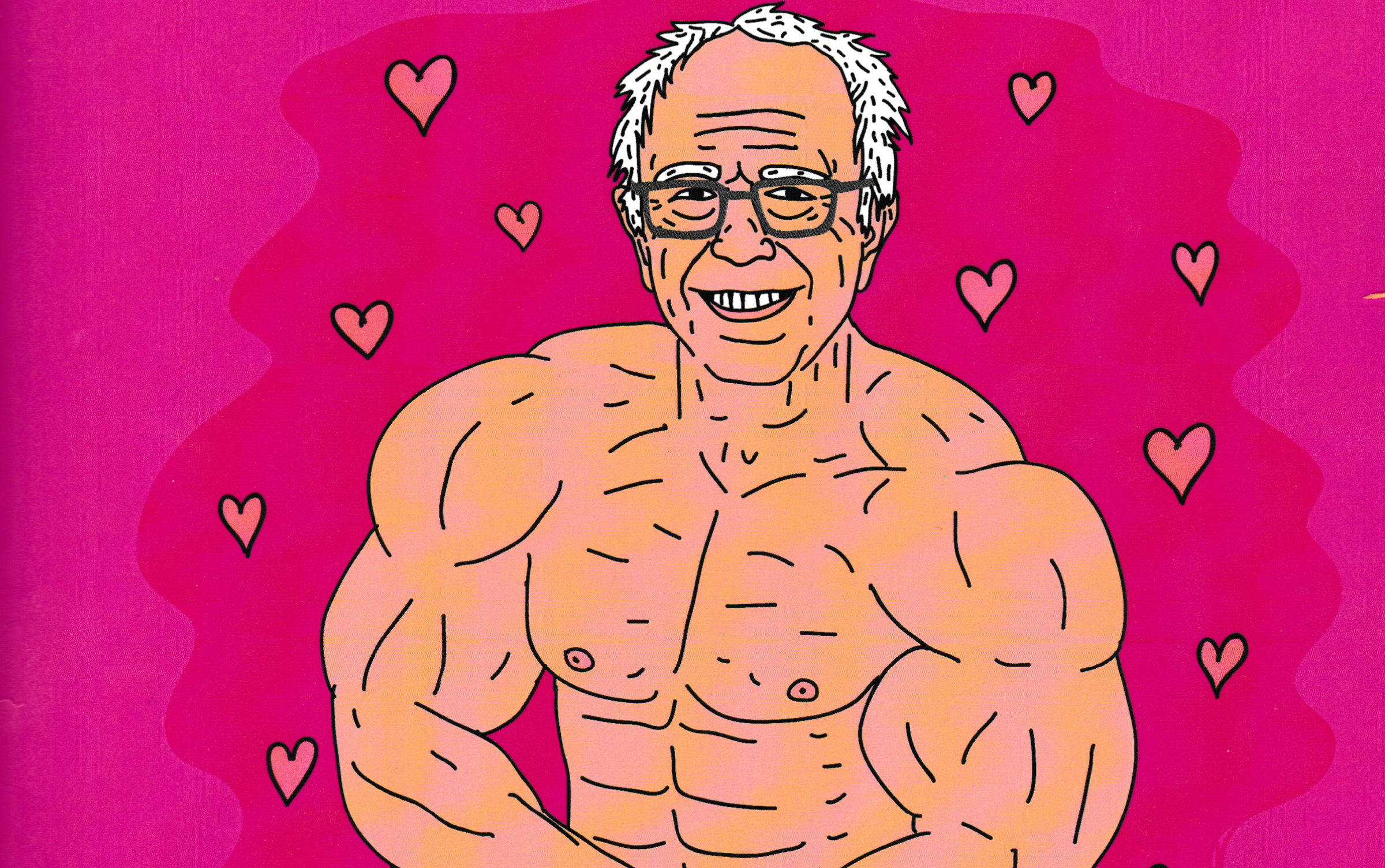 "Inside the ""Buff Bernie"" Coloring Book"
